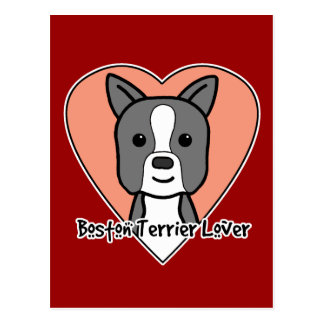 Boston Terrier Lover Postcard