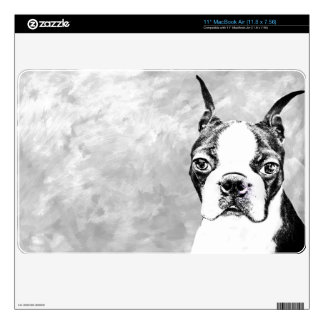 Boston Terrier MacBook Air Skin