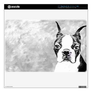 Boston Terrier MacBook Air Skin