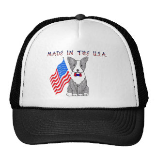 Boston Terrier Made In The USA Hat
