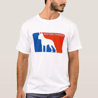 Boston Terrier Major League Dog T-Shirt