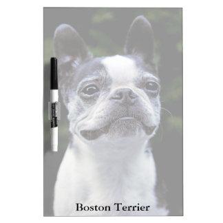 Boston Terrier Medium Dry Erase Board