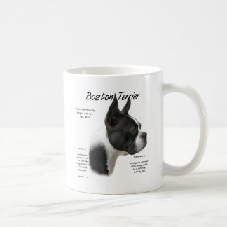 Boston Terrier Meet the Breed Classic White Coffee Mug