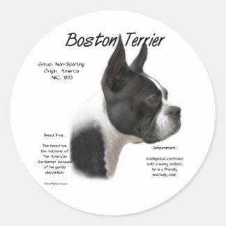 Boston Terrier Meet the Breed Sticker