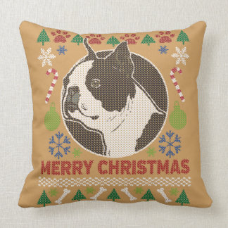 Boston Terrier Merry Christmas