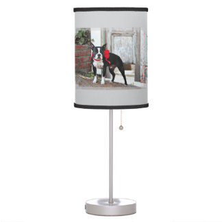 Boston Terrier - Miles Table Lamp
