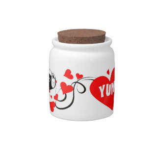 Boston Terrier Mirabelle YUM Treat Jar Candy Dishes