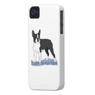 Boston Terrier Mom 2 iPhone 4 Cases