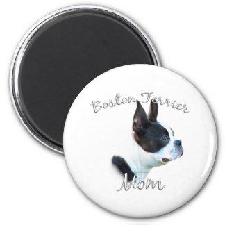 Boston Terrier Mom 2 Magnet