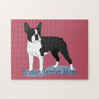 Boston Terrier Mom 2 Puzzle