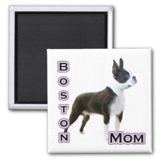 Boston  Terrier Mom 4  - Magnet
