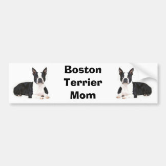 Boston Terrier Mom Bumper Sticker