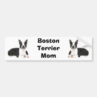 Boston Terrier Mom Bumper Sticker