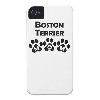 Boston Terrier Mom iPhone 4 Case