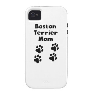 Boston Terrier Mom iPhone 4 Cases