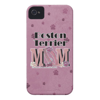 Boston Terrier MOM Blackberry Cases