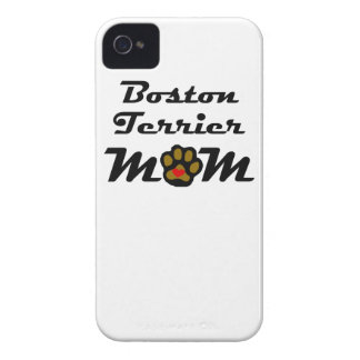 Boston Terrier Mom iPhone 4 Case-Mate Cases
