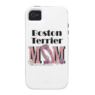 Boston Terrier MOM iPhone 4/4S Cases