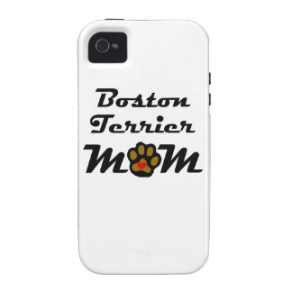 Boston Terrier Mom Case-Mate iPhone 4 Covers