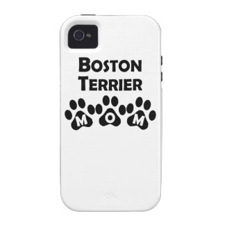 Boston Terrier Mom iPhone 4 Covers