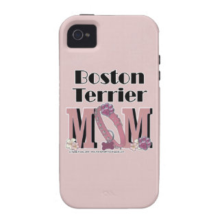 Boston Terrier MOM iPhone 4/4S Covers