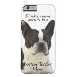 Boston Terrier Mom iPhone 6 Case