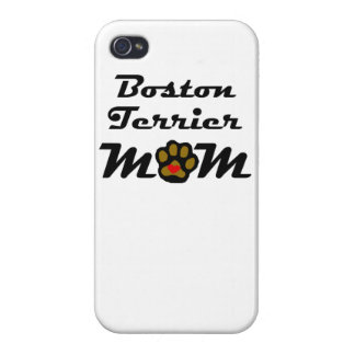 Boston Terrier Mom iPhone 4 Cover