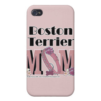 Boston Terrier MOM iPhone 4/4S Cover