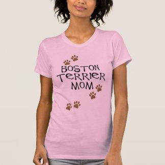 Boston Terrier Mom Tee Shirts