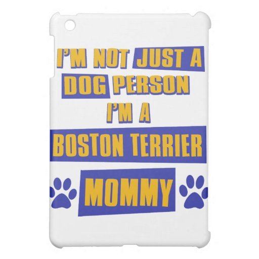 Boston Terrier Mommy iPad Mini Covers
