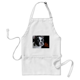 Boston Terrier:  More than my share of cuteness Apron