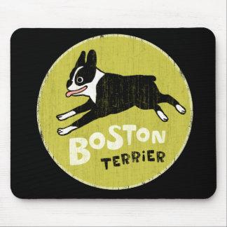 Boston Terrier Mouse Mats