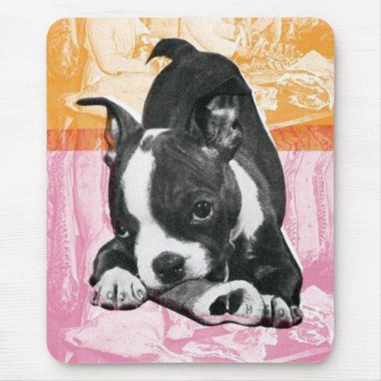 Boston Terrier mousepad