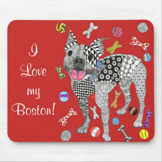 Boston Terrier Mousepad (You can Customize)