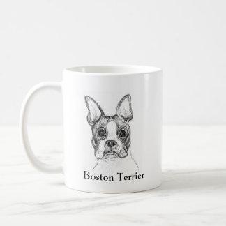 Boston Terrier Classic White Coffee Mug