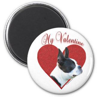 Boston Terrier My Valentine - Magnet