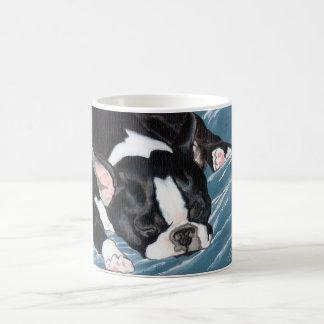 Boston Terrier Nap Coffee Mug