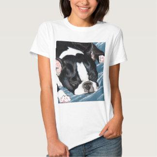Boston Terrier Nap T Shirt