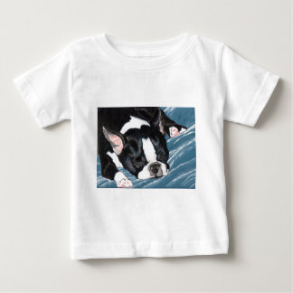 Boston Terrier Nap Tee Shirt