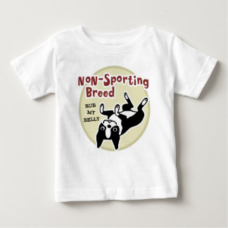 "Boston Terrier ""Non-Sporting Breed"" Baby T-Shirt"