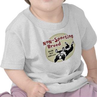 "Boston Terrier ""Non-Sporting Breed"" T Shirt"
