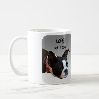 Boston Terrier Nope Mug