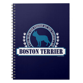 Boston Terrier Note Book
