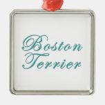 Boston Terrier Ornamentos Para Reyes Magos