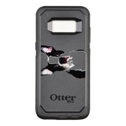 OtterBox Commuter Samsung Galaxy S8 Case with Boston Terrier Phone Cases design