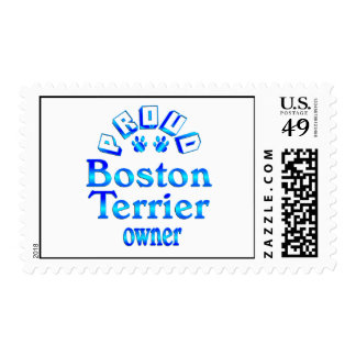Boston Terrier Owner Stamps