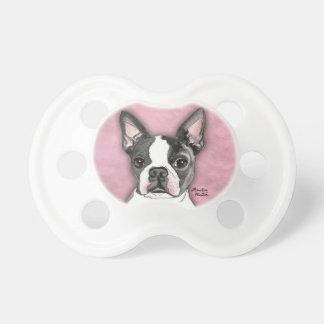 Boston Terrier Pacifier