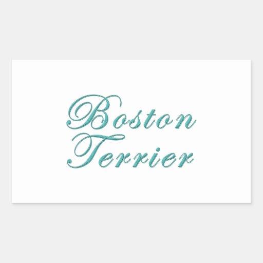 Boston Terrier Pegatina
