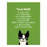 Boston Terrier - perro lindo con el texto de encar Anuncios Personalizados