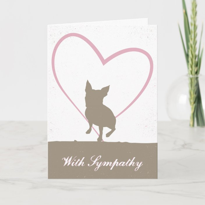 Boston Terrier Pet Loss Sympathy Card